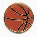 Custom Basketball Sports Pin