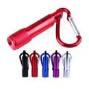 Custom Mini Flashlight Carabiner Key Tag, 4 1/4