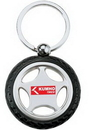 Custom Rubber/ Metal Tire Key Chain