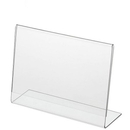 Custom Clear Countertop Sign Holder/ Frame, 17