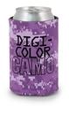 Custom DigiColor Camo Scuba Pocket Coolie Can Cover (4 Color Process)