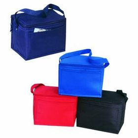 "MDS 600 Denier Polyester 6 Pack Cooler, 8.5"" L X 6.5"" W X 6.5"" H, Price/piece"
