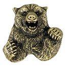 Bear Mascot Fully Modeled 3 Dimensional Pin