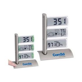 Triple Display Weather Station Alarm Clock, Price/piece