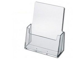 "Slant Back Brochure Holders - Medium (Fits 6""x9"" Inserts), Price/piece"