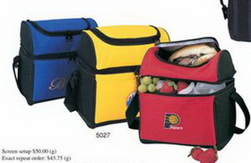 """Round Top Lunch Pack Cooler (9""""x10""""x6-1/4""""), Price/piece"""