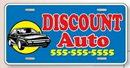 Custom Standard License Plates-.055