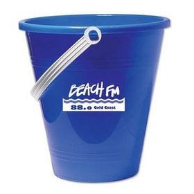 "Blue 6"" Pail with Shovel, Price/piece"