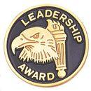 Blank Epoxy Enameled Scholastic Award Pin (Leadership Award), 7/8