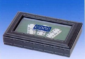Deluxe Double 6 Urea Dominoes (Screened), Price/piece