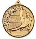 Custom 500 Series Stock Medal (Male Gymnastics) Gold, Silver, Bronze