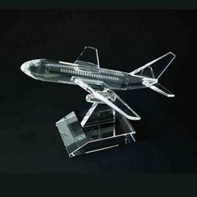 Crystal Air Plane(Sand Blast), Price/piece