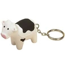 Custom Cow Stress Reliever Key Tag
