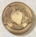 Custom Series 3625-B Die Struck Brass Coin (1 1/2