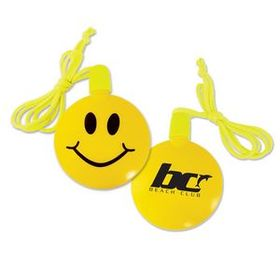 Smile Face Bubble Necklace, Price/piece