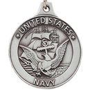 Custom U.S. Navy Pewter Key Chain