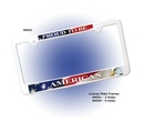 AAKRON Custom License Plate Frame W/ 2 Holes - Full Color Digital, 12 3/8