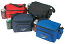 Custom 6 Pack Poly Cooler w/ Bottle Holder & Cell Phone Pouch (9