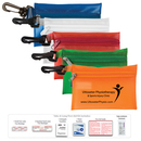 Custom Take-A-Long First Aid Kit #2 w/ Triple Antibiotic Ointment & Vinyl Pouch
