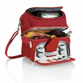 Pranzo Insulated Picnic Cooler w/ Service for One (8 Can Capacity), Price/piece