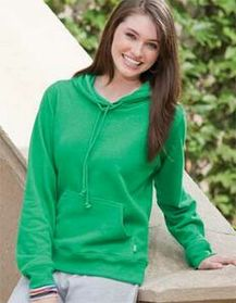 Enza Ladies Pullover Fleece Hoodie (XS-3X), Price/piece