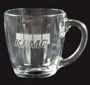 Custom Glass Tapered Mugs - 16 Oz.