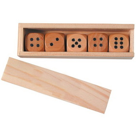 Wooden Dice, Price/piece