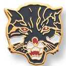 Custom Wildcat Mascot EM Series Pin