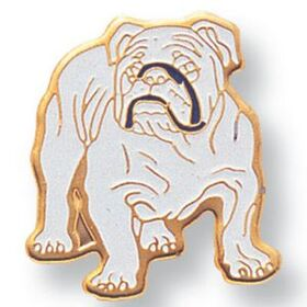 Bull Dog Mascot EM Series Pin, Price/piece