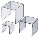 Custom Acrylic U Riser Stand (8