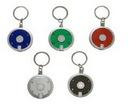 Custom Round LED Flashlight Key Chain