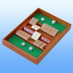 "9"" Shut The Box Dice Game (Screen Printed), Price/piece"