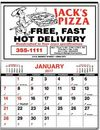 Custom Executive Memo Half Apron Calendar - Thru 5/31/12