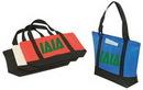 Custom Non Woven Polypropylene Tote Bag w/ Zipper (22
