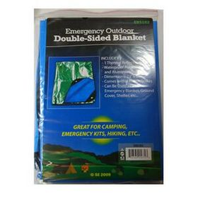 Emergency Outdoor Double Sided Blanket, Price/piece