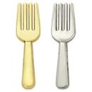 Custom Culinary Fork Lapel Pin, 1 1/4