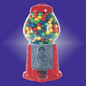 "11-1/2"" Standing Gumball Machine (Screened), Price/piece"