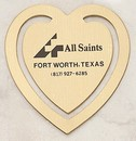 Custom Heart Bookmark Clip