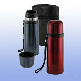 3 Pcs Stainless Travel Bottle W/ Zipper Case, Price/piece