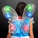 Blank Blinking White LED Fairy Wings, 14.5