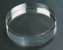 Custom Round Hockey Puck Paperweight - Optic Crystal (2
