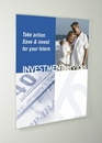 Custom Non-glare Acrylic Wall Poster Holder with Mounting Bracket (28w x 22h)