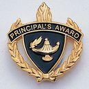 Blank Fully Modeled Epoxy Enameled Scholastic Award Pins (Principal's Award)