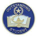 Custom Scholastic School Award Pins (Outstanding Student)