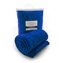 Custom Micro Plush Coral Fleece Blanket (Royal), 50