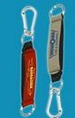Custom Wrist Strap Key Holder W/ Carabiner Clip (4 Color Process), 7/8