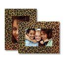 Custom Paper Easel Leopard Frame