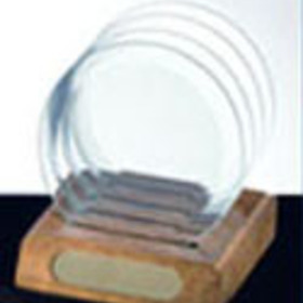 Circle Glass Coaster Set, Price/piece