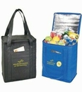 Custom On the Go Non Woven Cooler Tote Bag