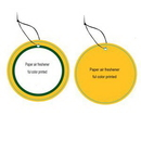 Custom Promotional Paper Air Fresheners, 3 1/2